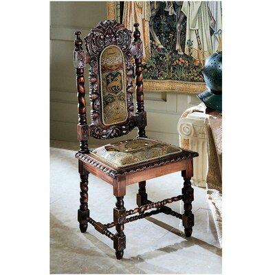 Design Toscano Charles II Fabric Side Chair