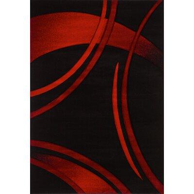 red area rugs contemporary canada 5x8 inc black rug