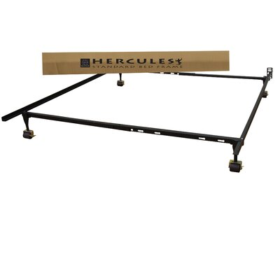 Classic Brands Hercules Standard Heavy Duty Adjustable Metal Bed Frame wit..