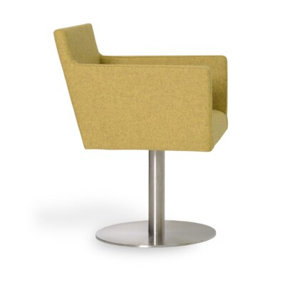 sohoConcept Harput Round Swivel Arm Chair