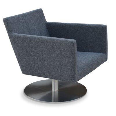 sohoConcept Harput Swivel Round Arm Chair