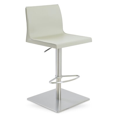sohoConcept Polo Adjustable Height Swivel Bar Stool