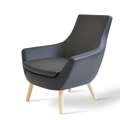 sohoConcept Rebecca Wood Arm Chair
