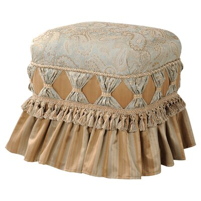 Jennifer Taylor Macy Traditional Decorative Ottoman