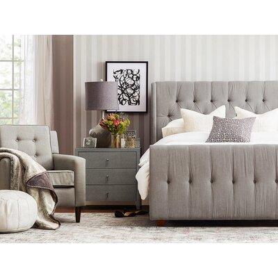 Jennifer Taylor Upholstered Panel Bed