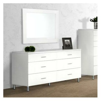 Wade Logan Samir 6 Drawer Dresser