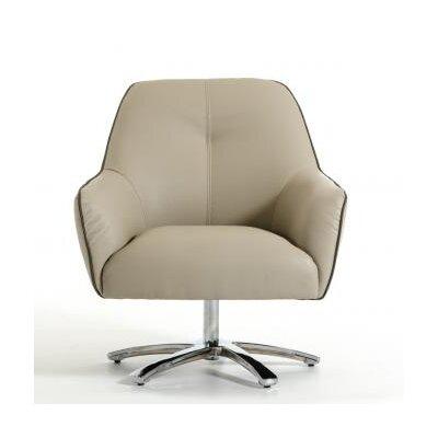 Wade Logan Aubrey Clover Modern Lounge Chair