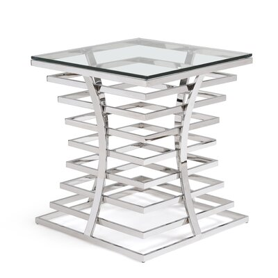 VIG Furniture Modrest Snyder End Table