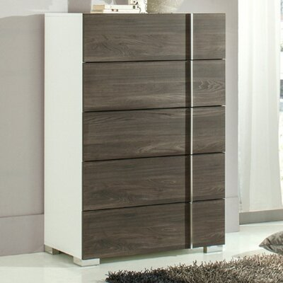 VIG Furniture Nova Domus Corrado 5 Drawer Chest
