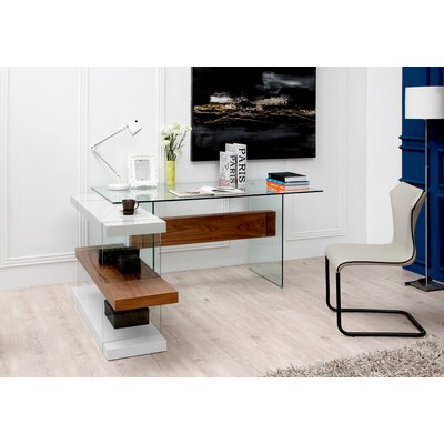 Wade Logan Clark Writing Desk and Shelves