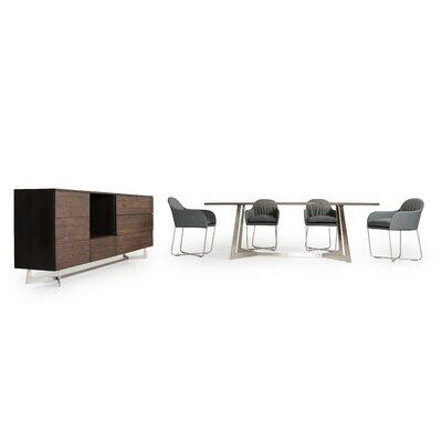 VIG Furniture Modrest Wharton 8 Piece Dining Set