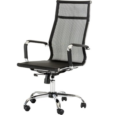 Wade Logan Belafonte Modern High-Back Mesh Conference Chair Image