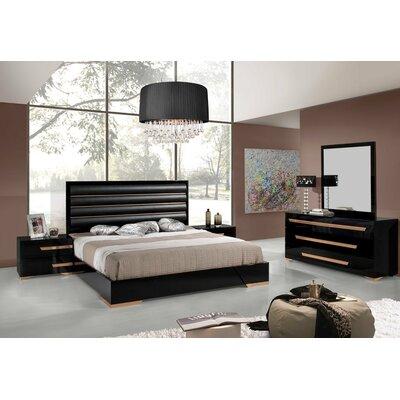 VIG Furniture Modrest King Platform Custo..