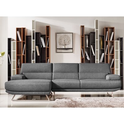 Wade Logan Thayne Trinidad Reversible Chaise Sectional