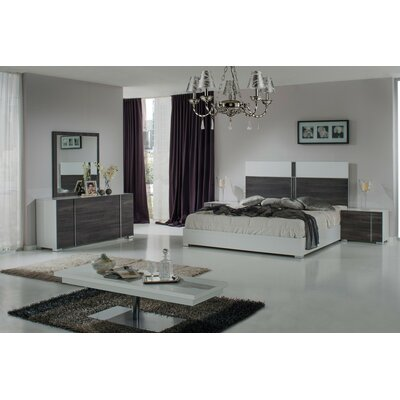 VIG Furniture Nova Domus Corrado Platform 5 Piece Bedroom Set