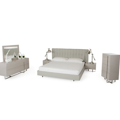 Wade Logan Calmar Voco Platform 5 Piece Bedroom ..