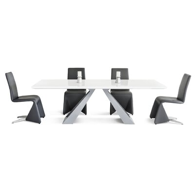 Wade Logan Newry 5 Piece Dining Set