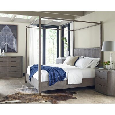 Brownstone Furniture Palmer Queen Canopy Customizable Bedroom Set