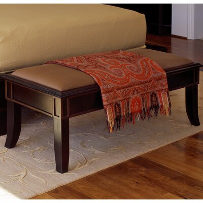 Brownstone Furniture Metropolitan Fabric Bedroom Bench