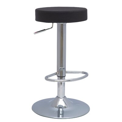 New Pacific Direct Metropolis Adjustable Height Bar Stool with Cushion (Set of 2)