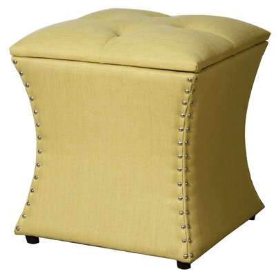 New Pacific Direct Amelia Upholstered Storage Ottoman