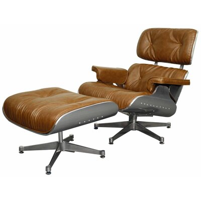 New Pacific Direct Grayson Lounge Chair and Ottoman