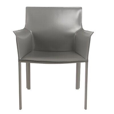 New Pacific Direct Gavon Recycled Leather Arm Chair