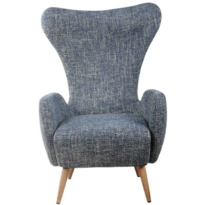 New Pacific Direct Trevor Fabric Armchair