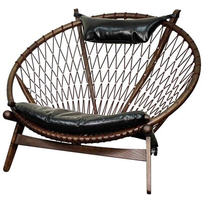 New Pacific Direct Soren Bonded Leather Papasan Chair