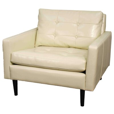 New Pacific Direct Ritchie Bonded Leather Lounge Chair