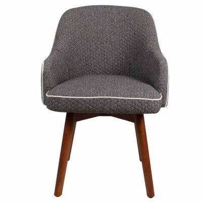 New Pacific Direct Terry Fabric Swivel Armchair