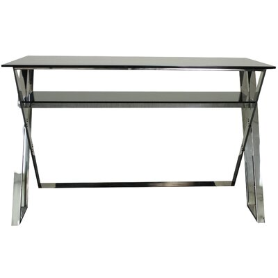 New Pacific Direct Nuevo Writing Desk with Glass Top