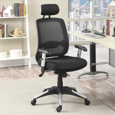 Poundex High-Back Mesh Task Chair with..