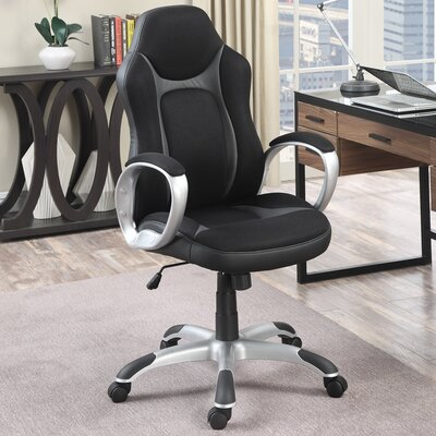 Poundex High-Back Task Chair with Arms