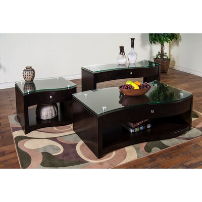 Sunny Designs Espresso Coffee Table Set