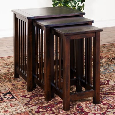 Sunny Designs Santa Fe 3 Piece Nesting Tables