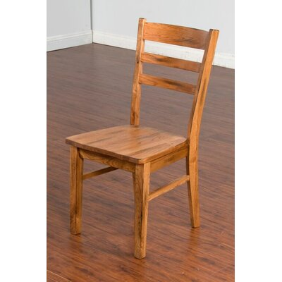 Sunny Designs Sedona Side Chair in Rustic Oak