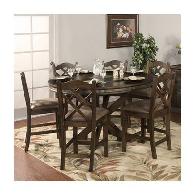 Loon Peak Birney 7 Piece Dining Set