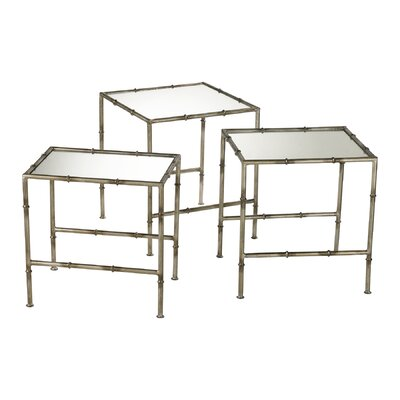 Cyan Design Bamboo 3 Piece Nesting Tables