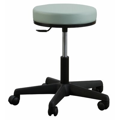 Oakworks Height Adjustable Premium Stool with Swivel Seat