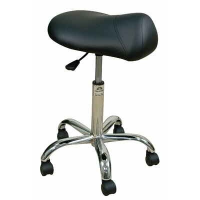 Oakworks Height Adjustable Professional Saddle Stool