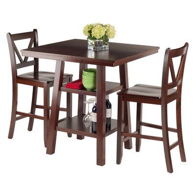 Luxury Home Orlando 3 Piece Pub Table Set