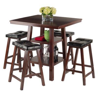 Luxury Home Orlando 5 Piece Pub Table Set