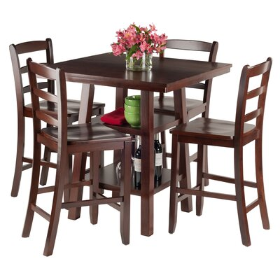 Luxury Home Orlando 5 Piece Pub Table Set