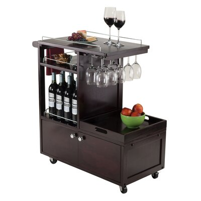 Luxury Home Galen Serving Cart