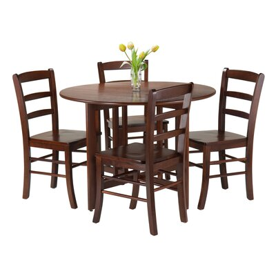 Luxury Home Alamo 5 Piece Dining Set