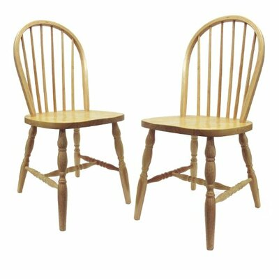 Luxury Home Windsor Side Chair (Set of 2)