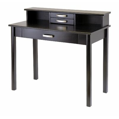 Luxury Home Liso Computer Desk with Hutch