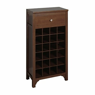 Luxury Home 24 Bottle Floor Wine Cabinet