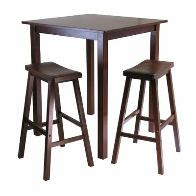 Luxury Home Parkland 3 Piece Pub Table Set